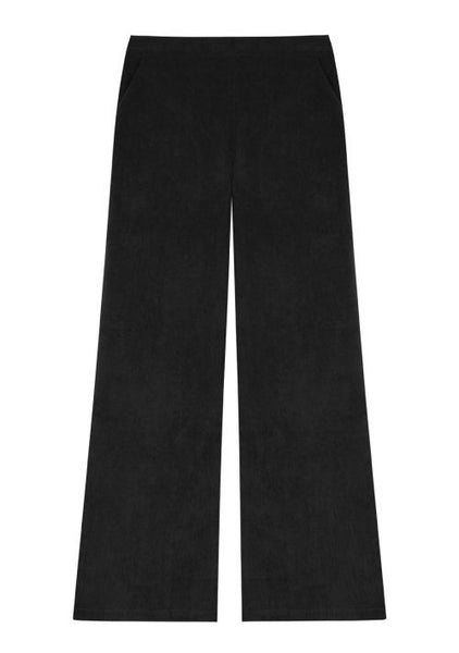 Compania Fantastica Black Straight-Leg Trousers