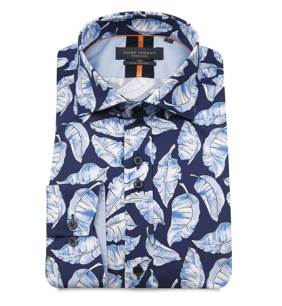 Guide London Ocean Leaves Shirt
