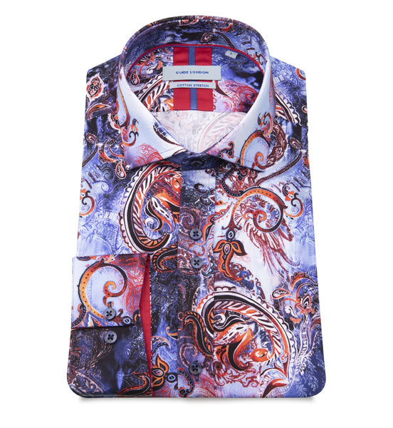 Guide London Sea Life Swirl Shirt