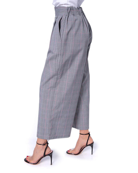 SILVIAN HEACH HIGH WAIST CULOTTE WITH PATTERN COMBAYA