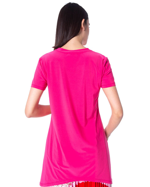 SILVIAN HEACH SHORT SLEEVE PINK TOP