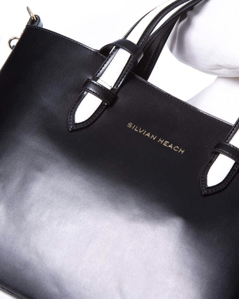 SILVIAN HEACH SHOPPER ASIA LEATHER BAG