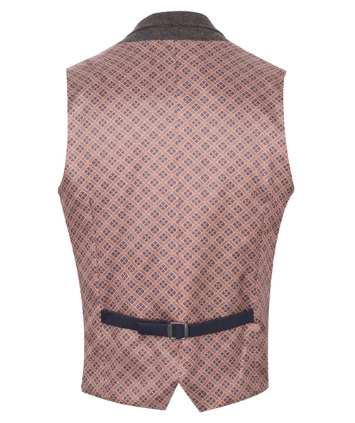 Waistcoat -  Brown by Guide London