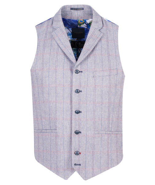 Guide London Waistcoat with Trim Collar