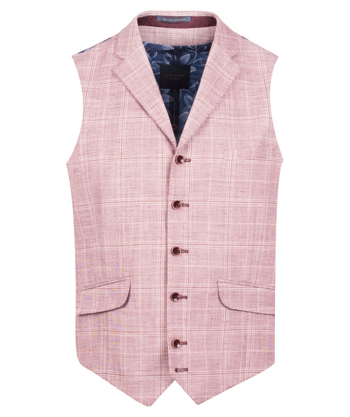 Guide London Pink Checked Jacket