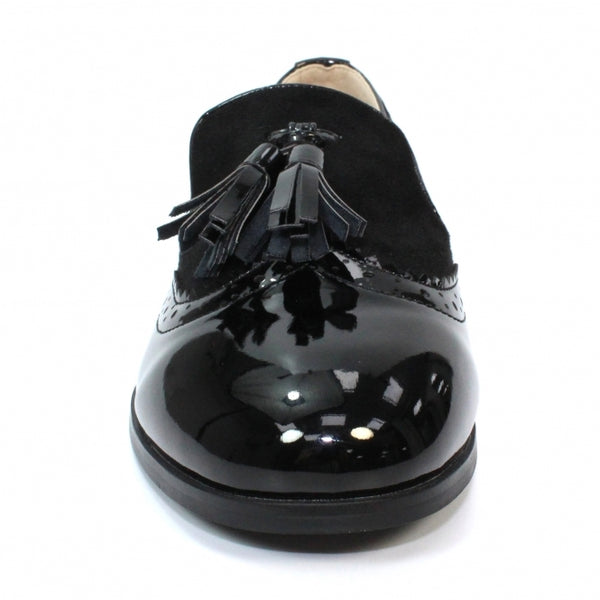 Lunar Bingley Patent Tassel Loafer