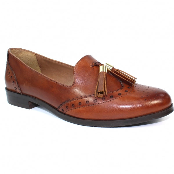 Lunar Ravello Leather Brogue Loafer