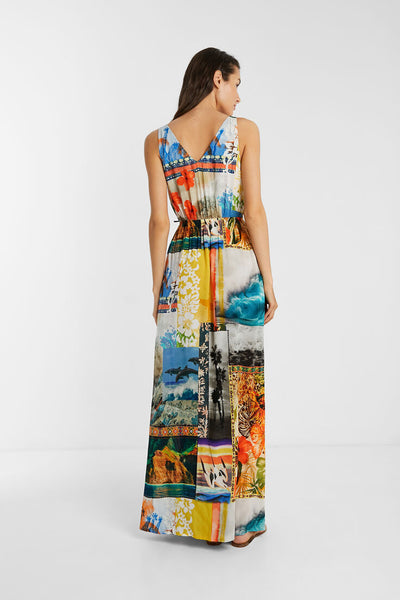 Desigual Eco Beach Dress, Exotic Landscapes