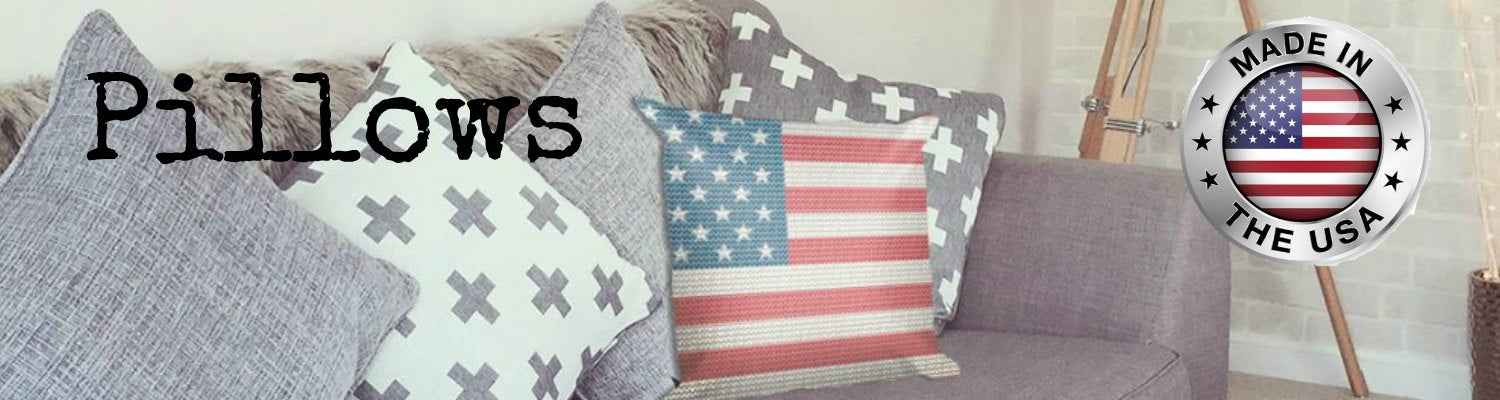 Throw Pillows made in the USA