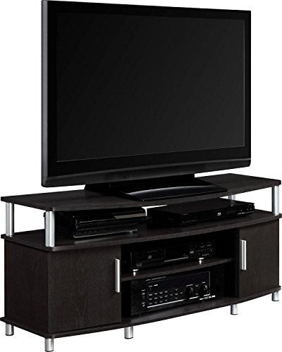 "Ameriwood Home Carson TV Stand for TVs up to 50"" Wide, Espresso"