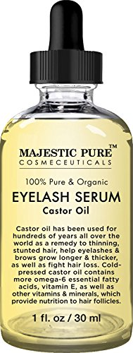 Majestic Pure Castor Oil Eyelash Serum Pure and Organic