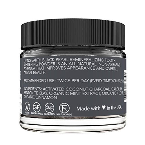 Black Pearl Activated Charcoal Teeth Whitening