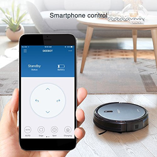 ECOVACS DEEBOT N79 Robotic Vacuum Cleaner with Strong Suction Wi-Fi Connected