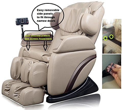 Shiatsu Massage Chair with Built in Heat