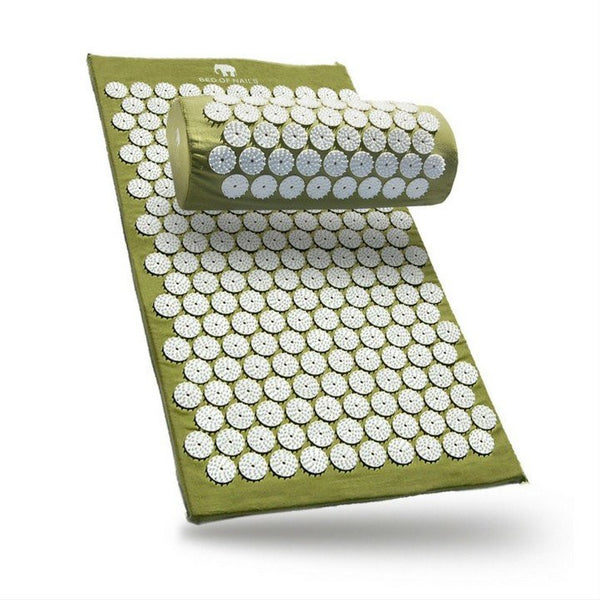 Acupressure Mat - Bed Of Nails Acupressure Mat & Pillow Combo Deal