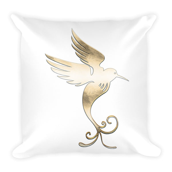 Peace Dove Square Throw Pillow