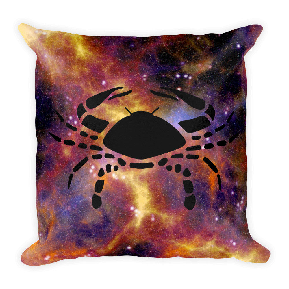 Sagittarius & Cancer Perfect Match Zodiac Throw Pillow