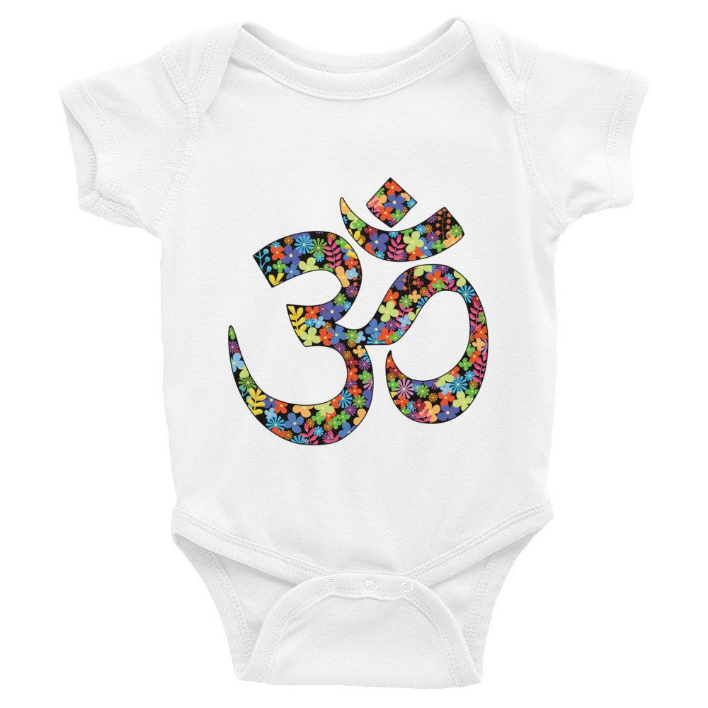 Onesie - Yoga Om Sign Infant Short Sleeve Onesie