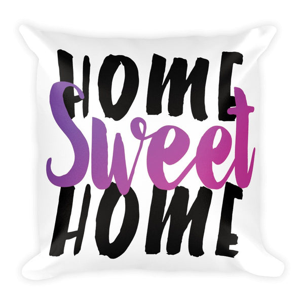 Throw Pillow - Home Sweet Home Throw Pillow