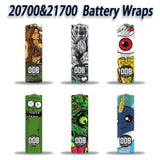 Battery Wraps - 20700/21700 - vape-hyper