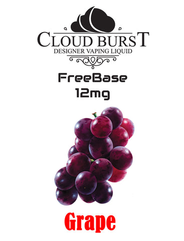 Cloudburst MTL Freebase Nicotine - Grape