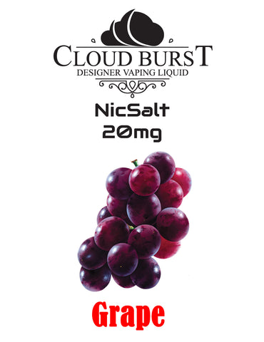 Cloudburst Nic Salts - Grape