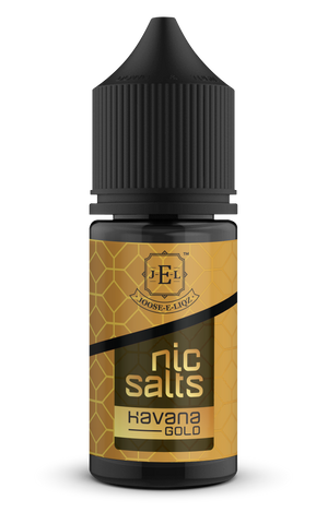 Havana Gold Nic Salts 30ml - vape-hyper