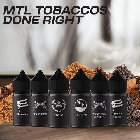 Cloud Burst MTL Nic Salt - Western Menthol Tobacco