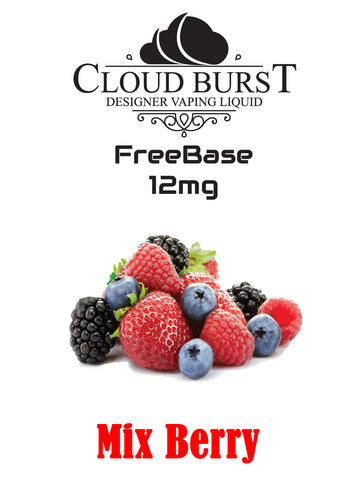Cloudburst MTL Freebase Nicotine - Mix Berry