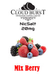 Cloudburst Nic Salts - Mix Berry