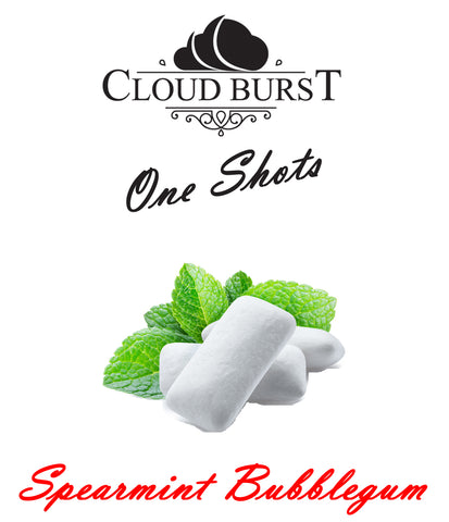 Cloud Burst One Shot - Spearmint Bubblegum