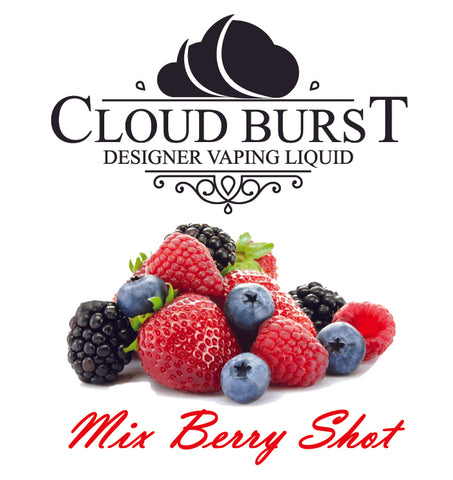Cloud Burst One Shot - Mix Berry