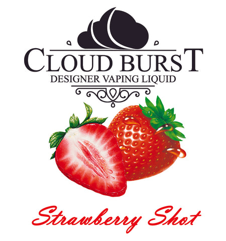 Cloud Burst One Shot - Strawberry