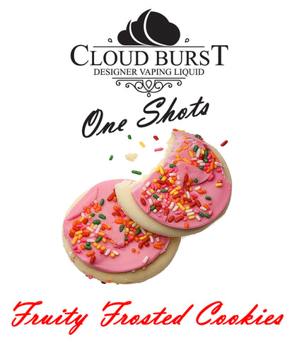 Cloud Burst One Shot - Fruity Frosted Cookies - vape-hyper