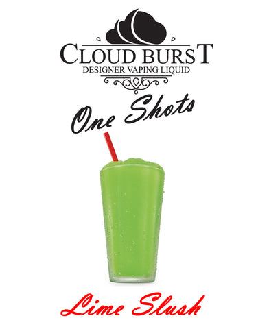 Cloud Burst One Shot - Lime Slush - vape-hyper
