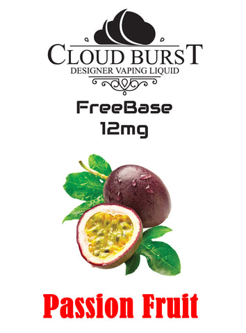 Cloudburst MTL Freebase Nicotine - Passion Fruit