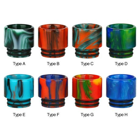 Resin Drip Tip for 810/ VOOPOO UFORCE T2 - vape-hyper