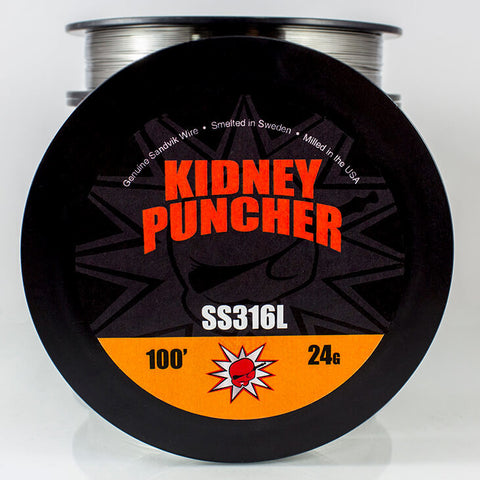 Kidney Puncher- Stainless Steel 100ft - vape-hyper