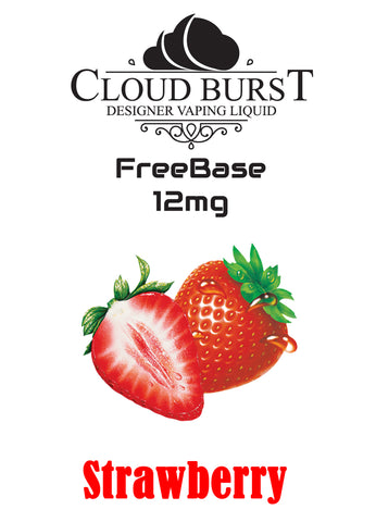 Cloudburst MTL Freebase Nicotine - Strawberry