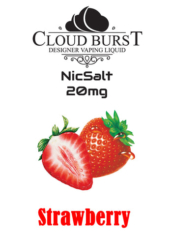 Cloudburst Nic Salts - Strawberry