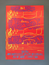 Andy Warhol & Keith Haring '20th Montreux Jazz Festival', Original Pop Art Poster, Plate Signed, 1986