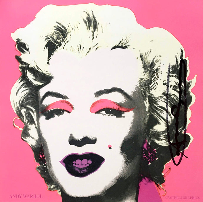 Andy Warhol 'Marilyn (Castelli Mailer)', Original Screenprint, Hand Signed, 1981