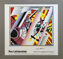 Roy Lichtenstein 'Reflections: Whaam!', Original Pop Art Poster, Hand Signed, 1993