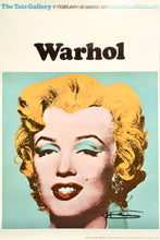 Andy Warhol 'Marilyn (Tate Gallery)', Original Pop Art Poster, Hand Signed, 1971
