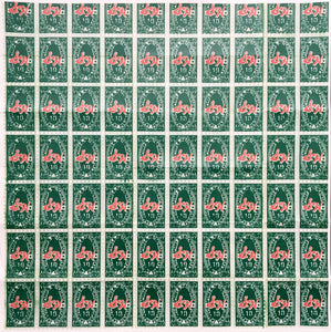 Andy Warhol 'S&H Green Stamps (Institute of Contemporary Art Mailer)', Original Pop Art Poster, 1965