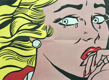 Roy Lichtenstein 'Crying Girl (Leo Castelli Mailer)', Original Pop Art Poster, 1963