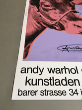 Andy Warhol 'Cow Wallpaper (Magenta)', Original Pop Art Poster, Hand Signed, 1983