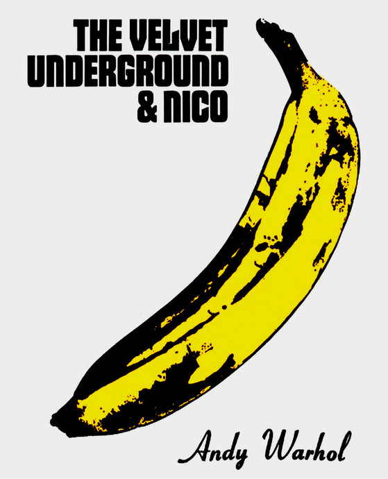 Andy Warhol 'The Velvet Underground & Nico', Original Pop Art Poster, Plate Signed, 1967