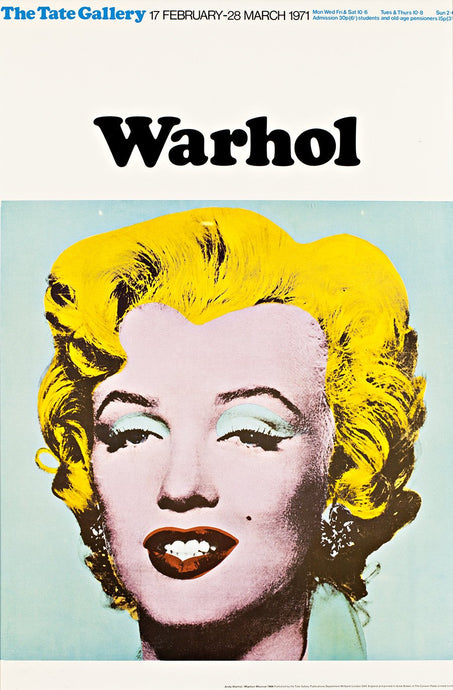 Andy Warhol 'Marilyn', Original Pop Art Poster, 1971
