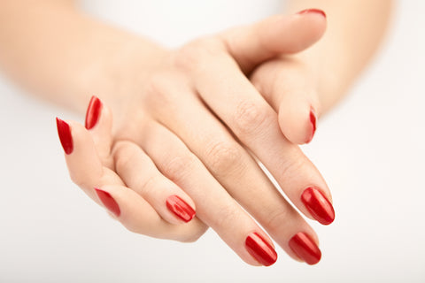 SLIXIR Hand and nail cream for a longer lasting manicure.